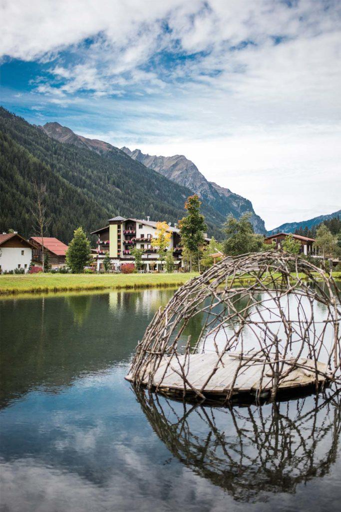 Biohotel Pitztal Tirol mit See