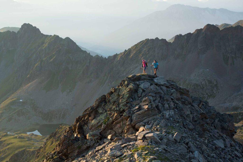 Alpines Bergwandern im Pitztal - Urlaub im Biohotel
