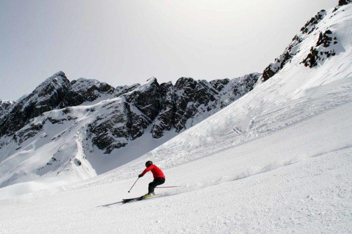 Skifahren Hochzeiger