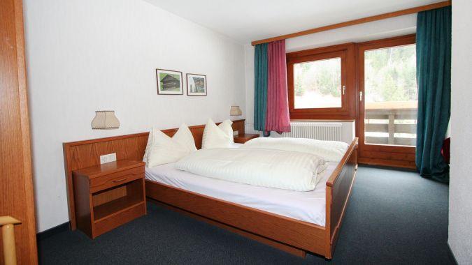 Schlafzimmer Ferienhaus Wiese