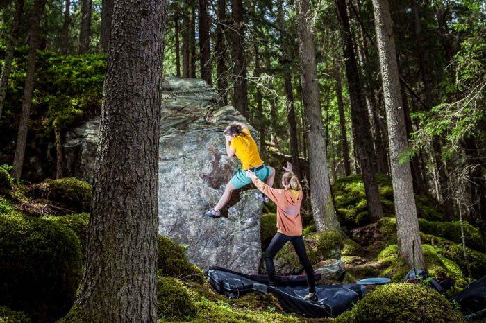 Bouldern im Pitztal Mandlersboden