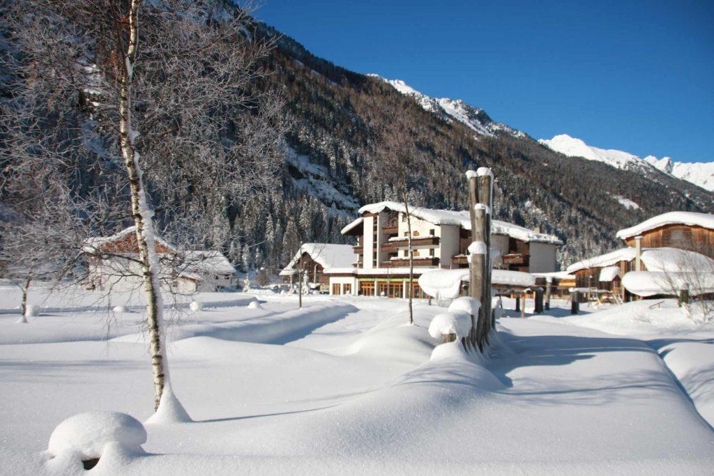 Biohotel Stillebach im Winter