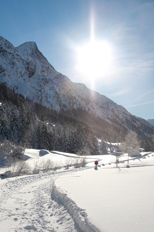 Winterwandern in Stillebach