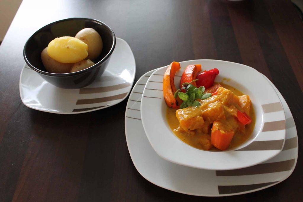 basenfasten curry rezept